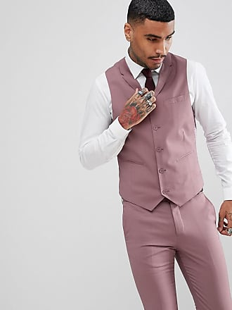 Rudie Rudie Wedding Pastel Skinny Fit Suit vest - Pink