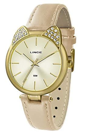 Lince Relógio Lince Feminino Ref: Lrc621l C1nx Fashion Dourado