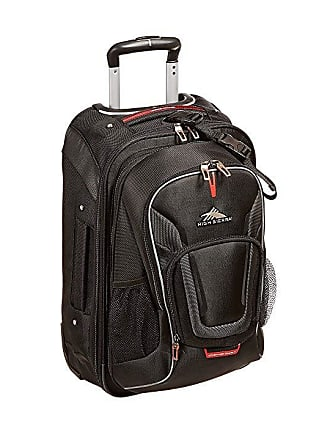 97c6e0eab8 High Sierra AT7 Carry-On Wheeled Backpack (Black) Backpack Bags