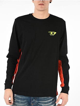 Diesel Logo Print T-HARUS-LS T-shirt size Xxl