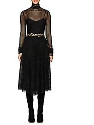 Philosophy di Lorenzo Serafini Womens Metallic Mesh Midi-Dress - Black Size  44 07479edab