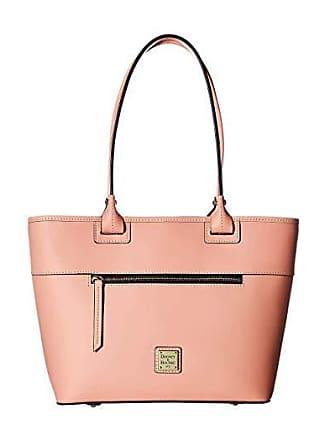 Dooney & Bourke Beacon Zip Tote (Light Pink/Self Trim) Tote Handbags