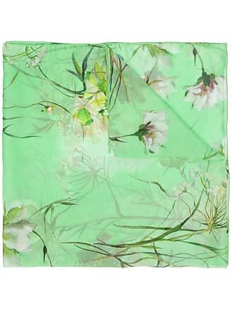 Blumarine Echarpe aquarela - Verde