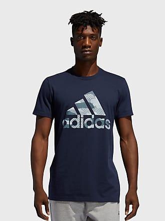 adidas Performance Camiseta adidas Performance Bos Camo Azul-Marinho