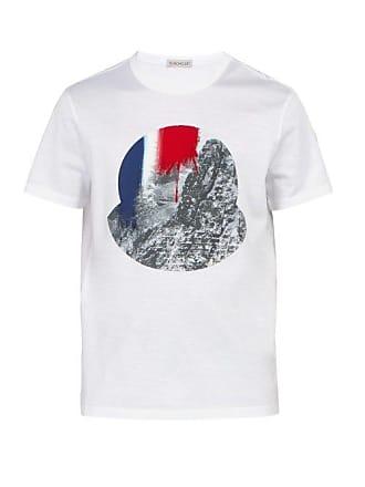 d4f06f4bd72 Moncler T-shirt en coton à imprimé photographique