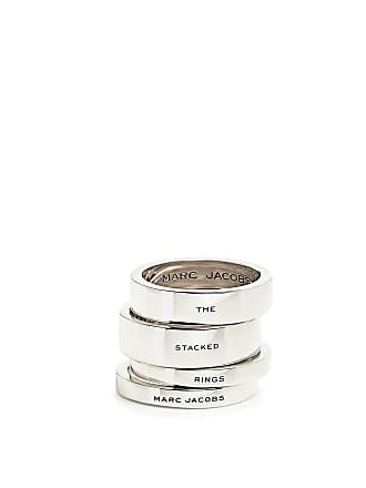 Marc Jacobs The Stacked Rings Silver