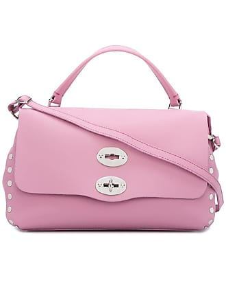 Zanellato flap closure tote - Rosa