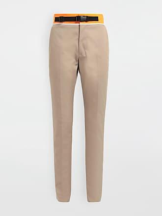 Maison Margiela Maison Margiela Casual Pants Beige Polyester, Cotton