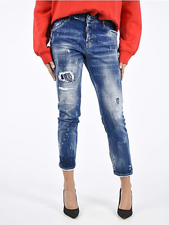 Dsquared2 Jeans COOL GIRL Distressed 16 cm taglia 42 20f8a00c3338