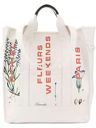 Sonia Rykiel flower tote bag - White