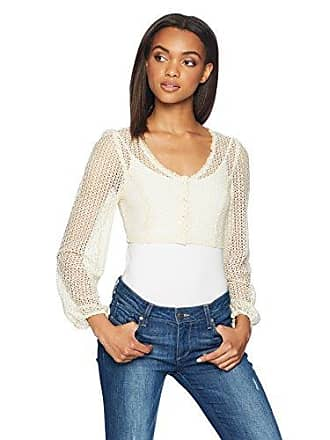 Only Hearts Womens Sanibel Crop Cardi, Off Off White, Large