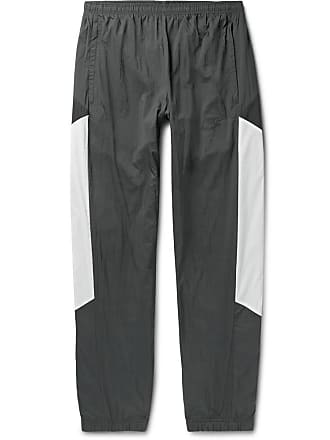 Nike Sportswear Re-issue Tapered Colour-block Nylon-ripstop Track Pants - Charcoal