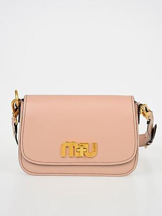 9c99eb1554c Miu Miu Leather PATTINA Shoulder Bag size Unica
