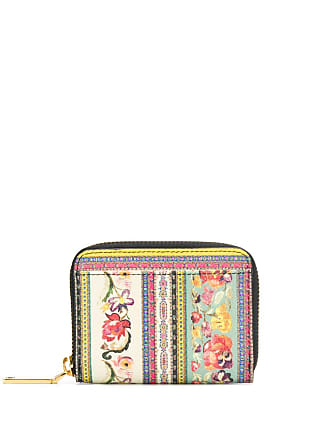 Etro floral print wallet - Red