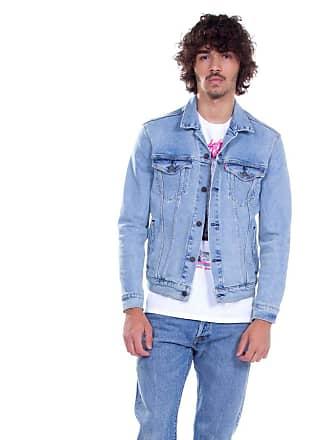 e3dfe6d50 Levi s Jaqueta Levis Masculina Jeans The Trucker Azul Claro