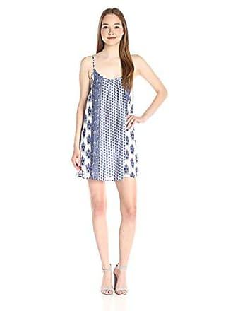 Joie Womens Jorell B Cotton Dress, Porcelain/Atlantic Blue S