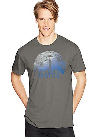 Hanes Mens Space Seattle Graphic Tee 2XL