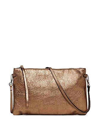 Gianni Chiarini hermy large bronze clutch bag