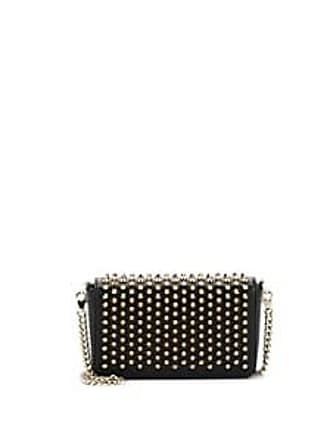 ae4453508d9 Christian Louboutin Womens Zoompouch Leather Crossbody Bag - Black