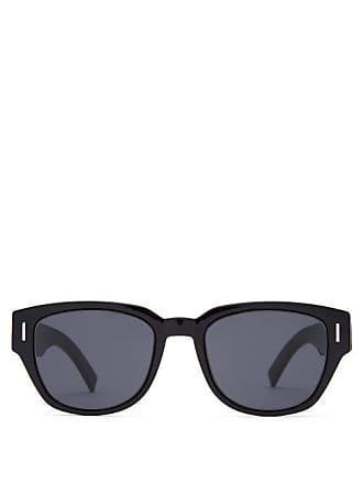 Lunettes Dior Fraction 3 D Frame Acetate Sunglasses - Mens - Black