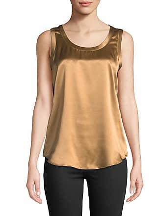 eb0ca6562f349 Lafayette 148 New York Perla Luxe Reversible Silk Charmeuse Shell