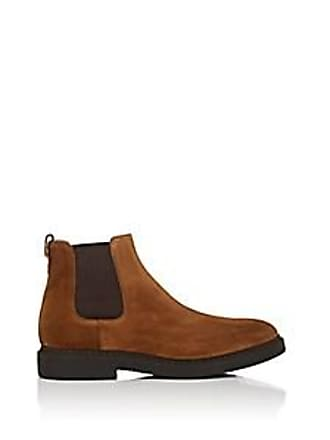 febc324ed93 Franceschetti Mens Suede Chelsea Boots - Med. brown Size 10.5 M