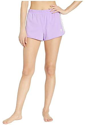 5758d6b67e78 Delivery: free. adidas Originals 3-Stripes Shorts (Purple Glow) Womens  Shorts