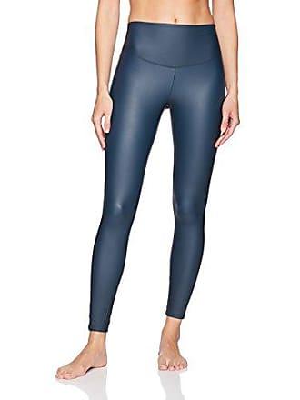 Yummie Tummie Womens Tony Faux Leather Legging Underwear, -Dress Blue, XS