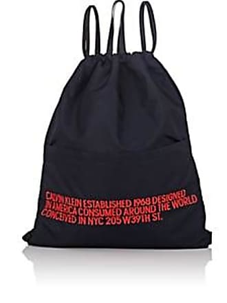 CALVIN KLEIN 205W39NYC Mens Drawstring Backpack - Navy