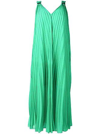 Escada Sport Vestido com pregas - Verde