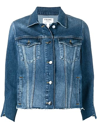 Frame Denim Le Triangle Gusset jacket - Azul
