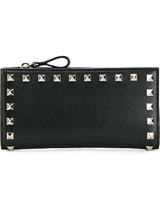 0f16fd315ebca Valentino Valentino Garavani Rockstud compact wallet - Black