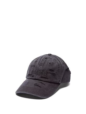 VETEMENTS X Reebok Weekday Saturday Embroidered Baseball Cap - Mens - Black