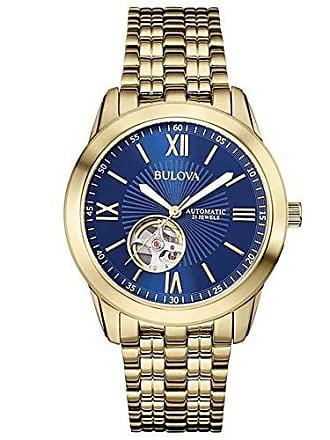 311b75cdded Bulova Relógio Masculino Bulova Automático Wb32004z - Dourado