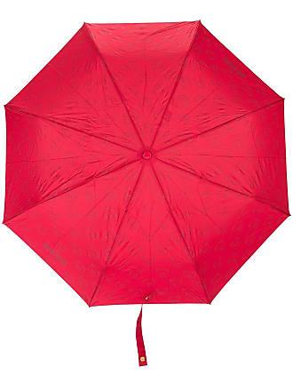 Moschino logo and bear print umbrella - Red