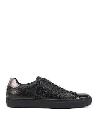 BOSS Hugo Boss Limited-edition leather sneakers embossed Jeremyville rabbit 12 Black