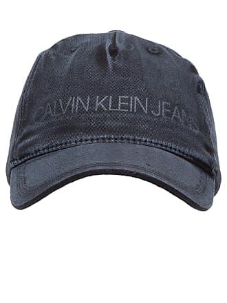 Calvin Klein BONÉ MASCULINO LONA LAVADA - PRETO 7b96ac44cf8