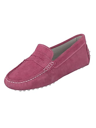 17687aff9ff8e Linea Scarpa Moccasin Cadiz Summer Womens Leather - Shocking Pink