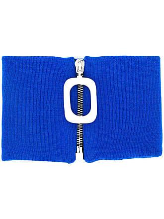 J.W.Anderson Cachecol de tricô - Azul