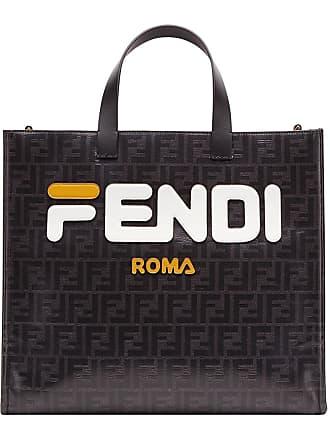 Fendi Borsa Shopper S FendiMania - Di Colore Nero 3272ad11d24