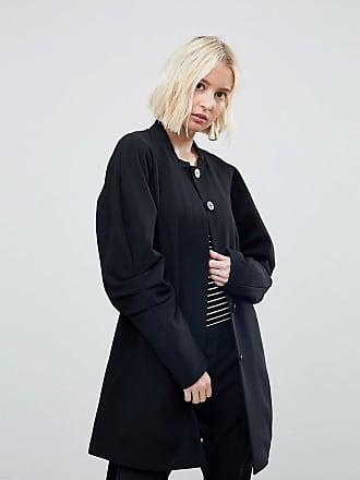 Vero Moda Coat With Volumous Sleeves - Black