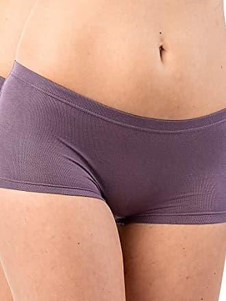 HERMKO 503288 2er Pack Damen Unterhose mit großer Spitze aus Baumwolle//Elastan