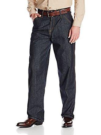 Cinch Mens FR Blue Label Carpenter Loose Fit Jean, Indigo, 34W x 32L