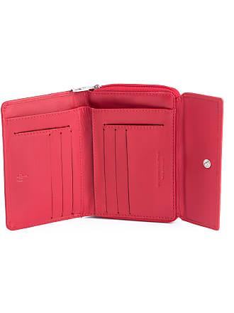 dv Portefeuille pour femme en cuir souple Nappa avec porte-monnaie zippé  extérieur ... 4804ba506fd
