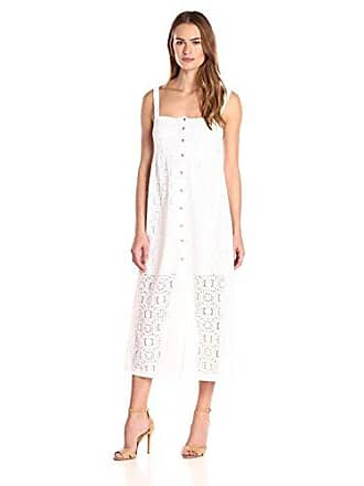 Only Hearts Womens Lisbon Lace Square Neck Sundress, White, X-Small