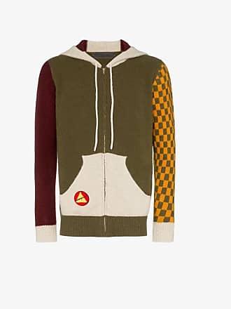 The Elder Statesman Lucky Talisman cashmere zip hoodie
