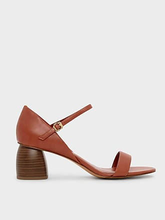 Charles & Keith Stacked Heel Sandals