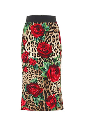 Dolce & Gabbana Printed pencil skirt