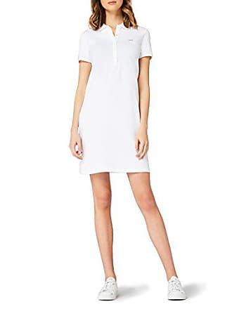 Lacoste Abito Donna Bianco (Blanc) 42 (Taglia Produttore  38) c18882d5b95
