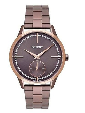 Orient Relógio Orient Feminino Ref: Fmss0005 N1nx Fashion Chocolate